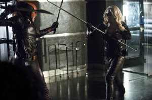 VS Black Canary...
